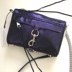 Rebecca Minkoff Handbags - Rebecca Minkoff Mini MAC Crossbody Midnight