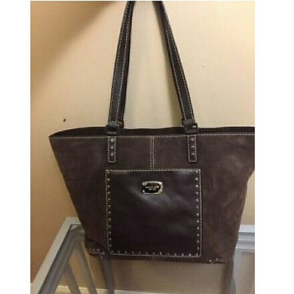 b44d83c38763  NEW  MICHAEL KORS Astor Large Stud Leather Tote. Listing Price   158