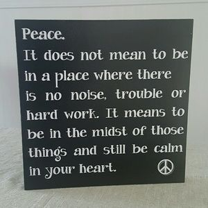 """Huckleberry Row Other - Wood Sign 