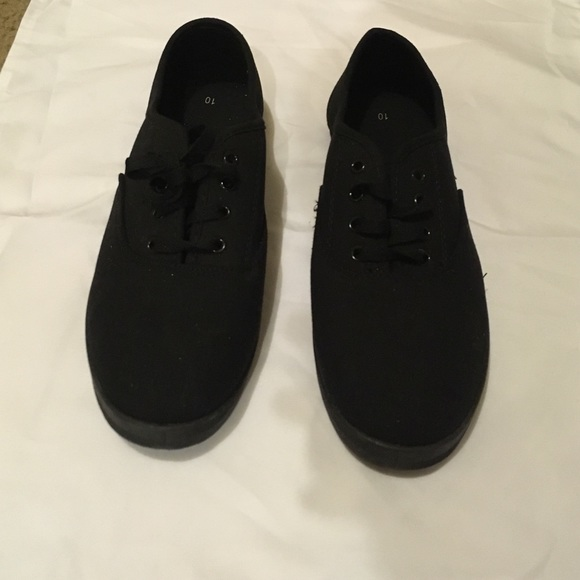 13d4425c0364 Walmart Shoes - Black Sneakers