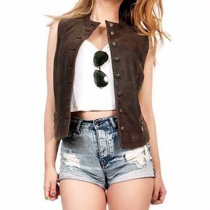 Preston & York Jackets & Blazers - Preston & York leather vest