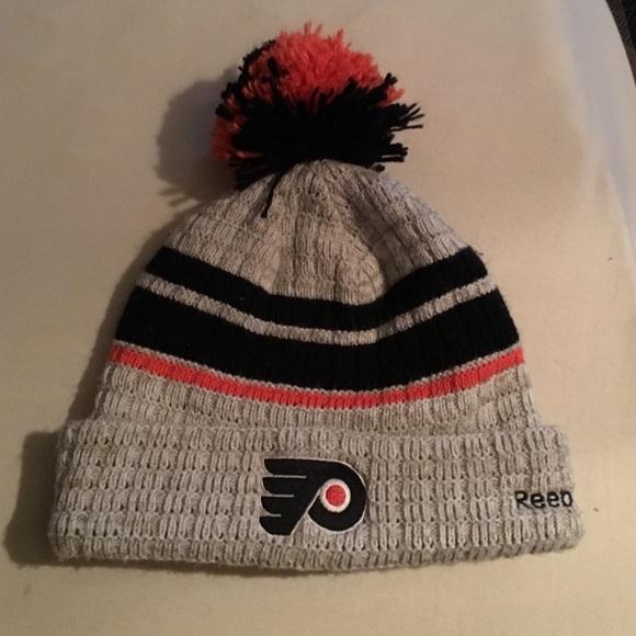Flyers winter classic snow hat. M 586e00df36d5948622026611 0f0a0be82ea8