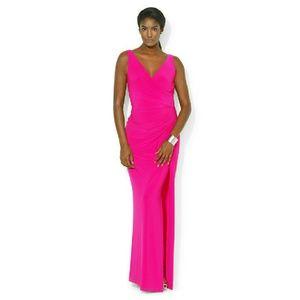 Ralph Lauren Dresses & Skirts - New! RALPH LAUREN Side-slit Evening Dress Gown NWT