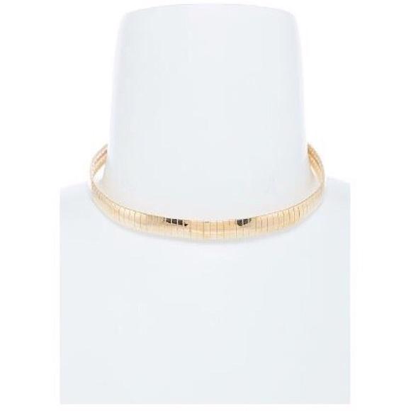 """Jewelry - """"Boss"""" Gold Thin Choker"""