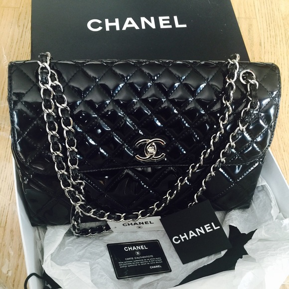 CHANEL Bags   Patent Leather   Poshmark 23f58f5b1b