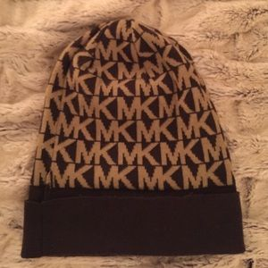Michael Kors Printed Beanie - Never Worn