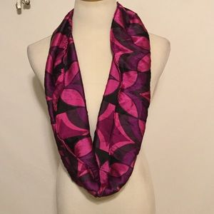 Accessories - Silk Infinity Scarf