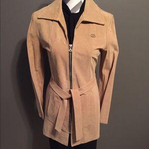Diesel Jackets & Blazers - SALE- NWOT Diesel suede coat S/M exl condition