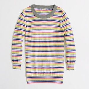 J. Crew Factory Sweaters - J. Crew Factory Charley Sweater in Candy Stripe
