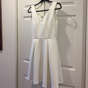 Francesca's Collections Dresses & Skirts - Francesca's White Sweetheart Neck Dress NWT - S