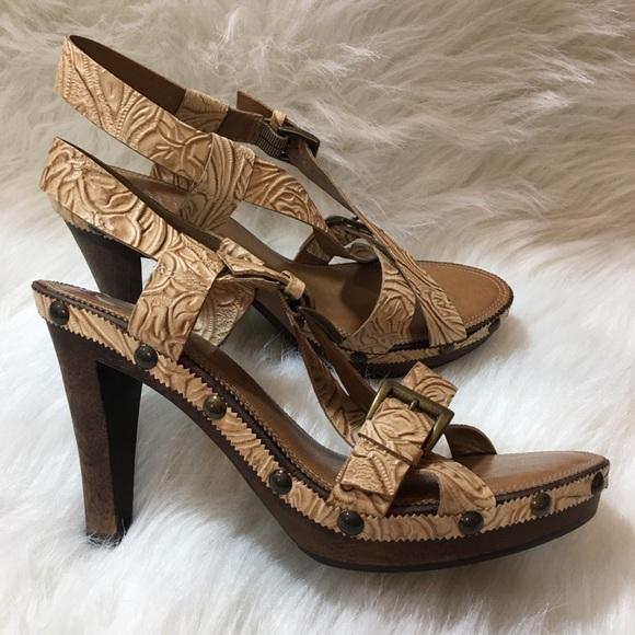853f87f00ae Franco Sarto Shoes - Franco Sarto Strappy Heels