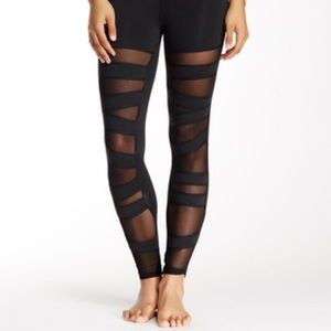 Electric Yoga Pants - Ballerina Lace Up Leggings