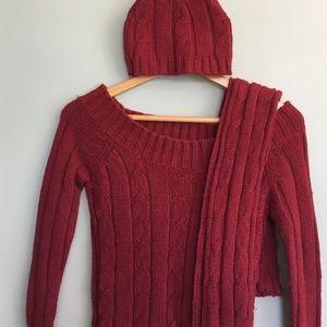 CR sweater set