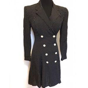 Vintage Dresses & Skirts - Vintage Clueless Polka Dot 90's Dress