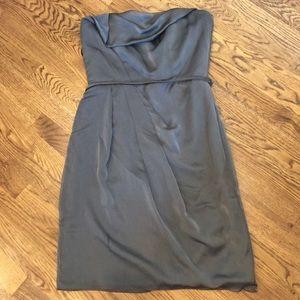 Alvina Valenta Dresses & Skirts - Grey Strapless Chiffon Alvina Valenta Dress