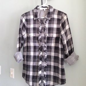 Joie Tops - JOIE Long Sleeve Button Down
