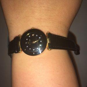 Richelieu Accessories   Black On Black Swiss Watch   Poshmark 65e88ee0054c
