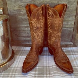 e76ed944a1c Lucchese 1883 leather boots women's 8B hardly worn
