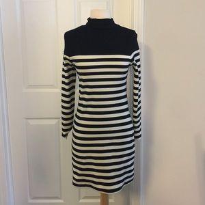 Topshop Dresses & Skirts - Mock turtleneck dress