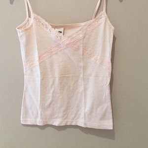 New Old navy lace trim tank top
