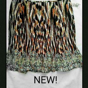 Dana Buchman Dresses & Skirts - New! Dana Buchman skirt Boho sz 16 XL plus