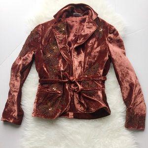 FLASH SALEFrom $65 - Boho Silk Velvet Blazer