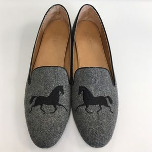 J.Crew Factory Addie gallop loafers