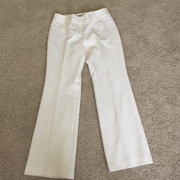 Winter white dress slacks.