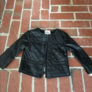 Osh Kosh Other - Genuine Kids OshKosh faux leather 12M NWT