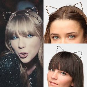 Urban Outfitters Accessories - New cat ear rhinestone headband urban outfitters