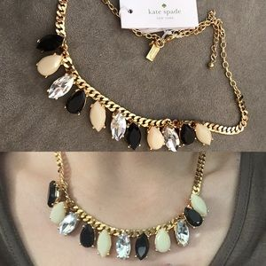 kate spade Jewelry - NWT Kate spade gem statement necklace garden