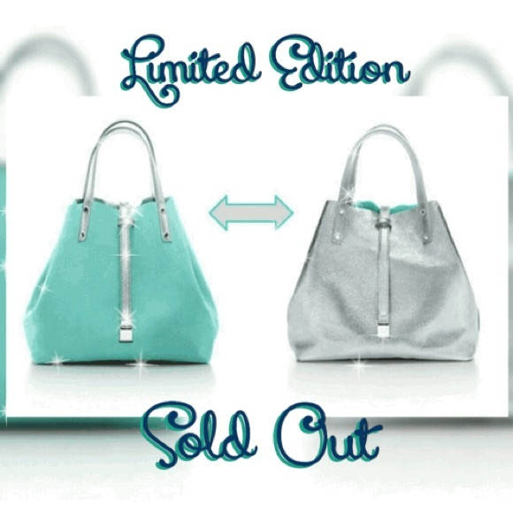 f013d60c20 Tiffany & Co. Bags | Ltd Ed Tiffany Co Reversible Suede Sm Tote ...