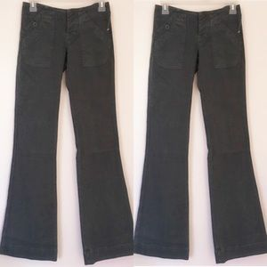 Citizens of Humanity Bay Leaf Green Flare Jeans