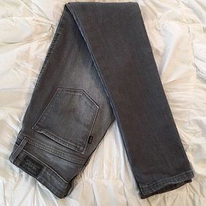 Levi's Low Rise Skinnies in Lightning Trail