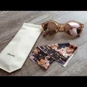 D'blanc + Beach Riot Collab Sunglasses