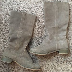 Francesca's Collections Shoes - Slouchy Suede Boots