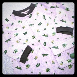 Organically Grown Kids Other - NWT Organically Grown Kids One-Pc Outfit Sz 9M🐢🐌
