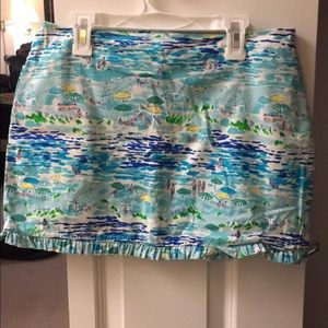 Lilly Pulitzer Dresses & Skirts - ✳️FINAL REDUCTION✳️ High tide toile skirt