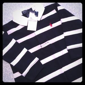 HP🎉3/12🎉NWT Polo by Ralph Lauren Striped One-Pc