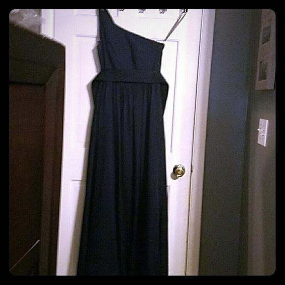 Vera wang marine color dress