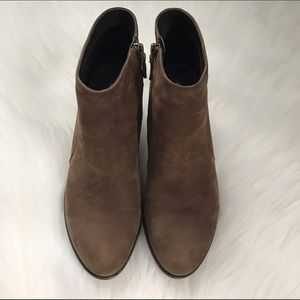 Franco Sarto leather ankle boots size 9.5