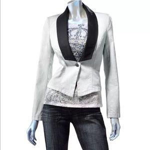Rock & Republic Jackets & Blazers - Rock & Republic Gray Denim Blazer w/Trendy Cuffs!