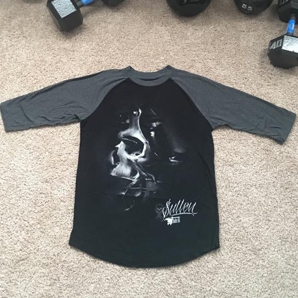 sullen Shirts | Raglan Bullet Bg | Poshmark