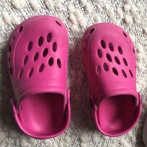 7c9d086004a73b CROCS Shoes - Pink knock off crocs size 6 7
