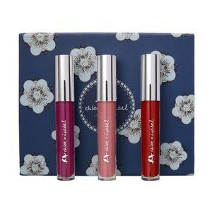 Chloe + Isabel Other - NEW Chloe + Isabel Liquid Lipstick Set