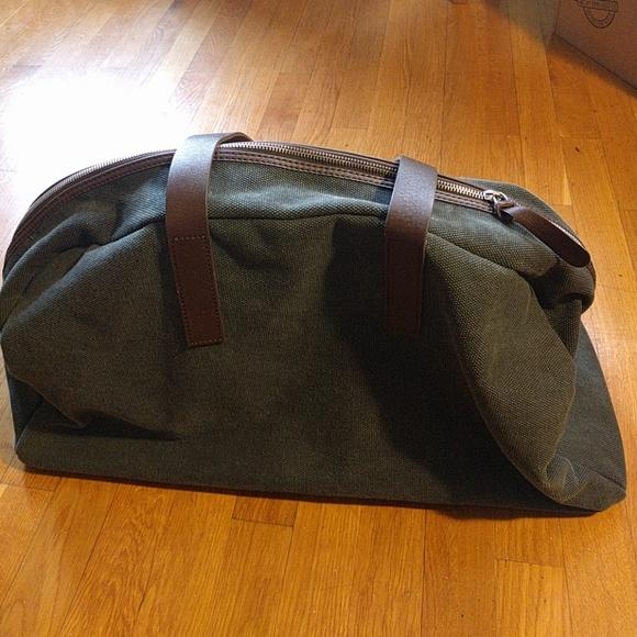 212ff1a2a Everlane Handbags - Everlane Dark Green Twill Weekender