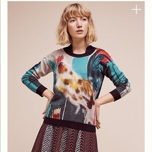Anthropologie Sweaters - ⚡SALE⚡Anthropologie Rooster sweater  NWT