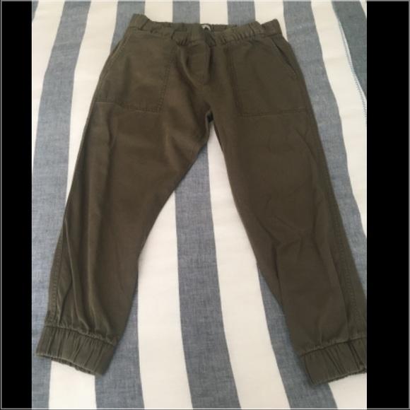 GAP Pants - Gap Olive Green Joggers