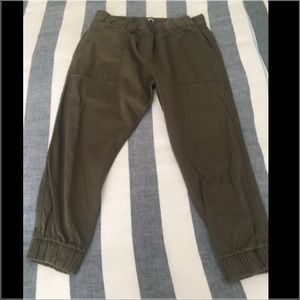 GAP Pants - Gap Olive Green Joggers