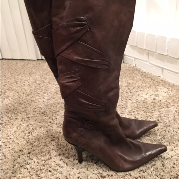 80 bakers shoes brown leather boots from lindsay s